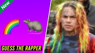 GUESS THE RAPPER FROM EMOJI *CHALLENGE*
