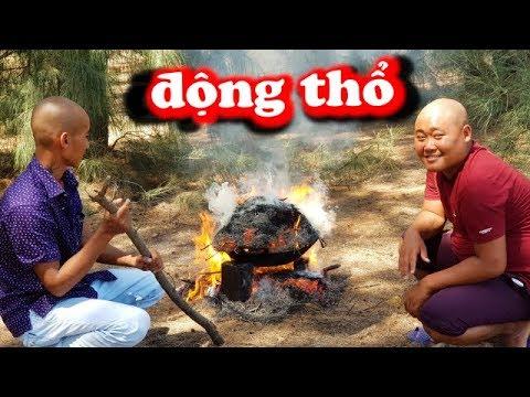 Ẩm Thực Món GÀ CHUI CÁT | TEAM TRỌC | Sơn Dược Vlogs #83