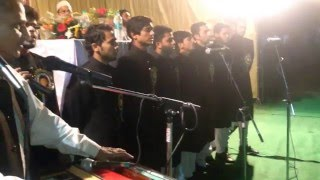 A M U TARANA 2015 SIR SYED DAY  AMU S S HALL NORTH AMU ALIGARH ......Murtaza Malik AMU