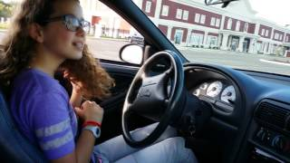 I teach my 12 year old daughter how to drive a manual transmission