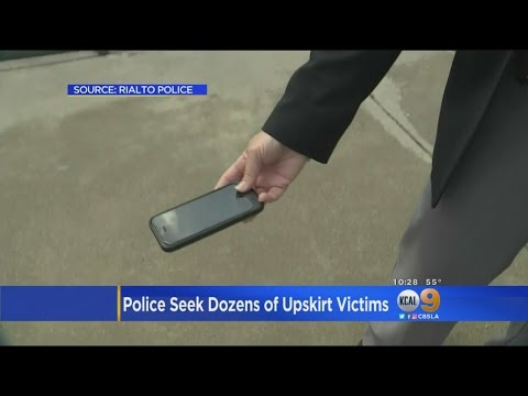Rialto Police Look For Victims Of Upskirt Video Shooter thumbnail