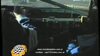 El Chueco Romero on-board en Parana 1997