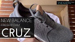 New balance fresh foam cruz, unboxing