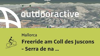 Mountainbike-tour auf Mallorca: Freeride am Coll des Juscons - Serra de na Burguesa