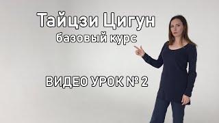 Тайцзи Цигун  Гимнастика здоровья и долголетия, видео урок №2