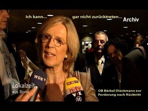 WCCB-Millionenskandal: Bärbel Dieckmann will nicht zurücktreten...