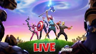 ENDGAME LTM | Fortnite X Avengers | New AVENGERS SKINS | TRICKSHOTTING
