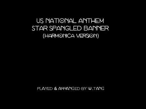 Harmonica harmonica tabs national anthem : US National Anthem - Star Spangled Banner (harmonica version ...