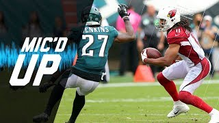 Listen to Philadelphia Eagles safety, Malcolm Jenkins, mic'd up dur...