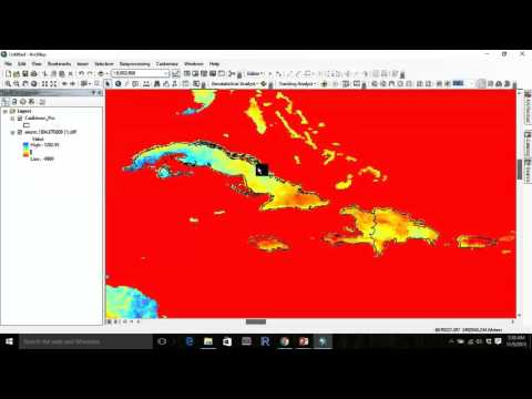 CHIRPS Tutorial on Rainfall Anomalies in the Caribbean