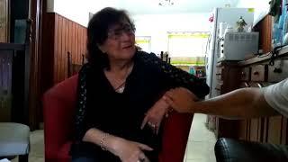 Manuela recibe la carta que le escribió su hijo Jorge en Malvinas, 37 años después.