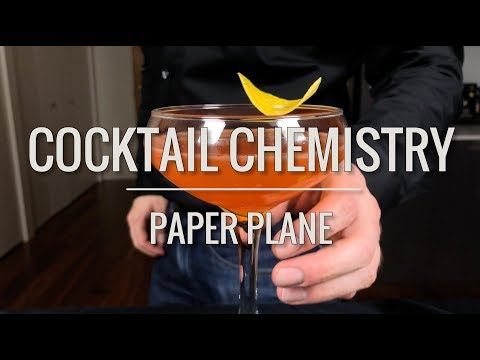 Basic Cocktails - How To Make The Paper Plane