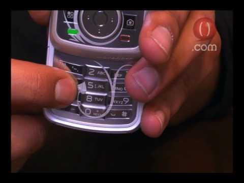 Motorola Charm i856w