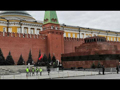 Красная Площадь и день рождения #Сталина