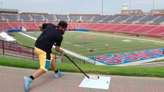 Tailgating Trick Shots | Dude Perfect(Tailgating games... Dude Perfect style! Click HERE to play one-week fantasy football! http://bit.ly/DudePerfectFantasy Play our FREE new iPhone game!! ▻Play ..., 2015-09-07T21:55:01.000Z)