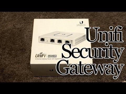 What does the Ubiquiti Unifi Security Gateway (USG) do for