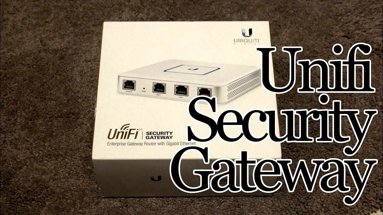 What does the Ubiquiti Unifi Security Gateway (USG) do for me?