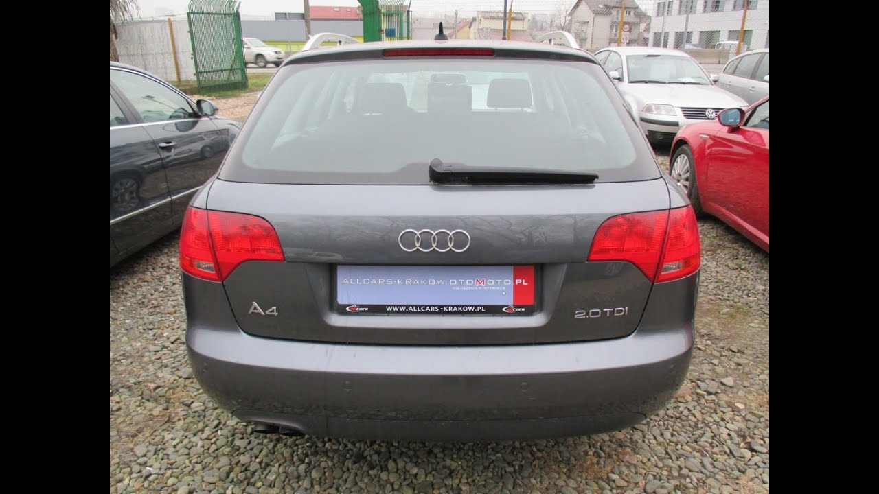 Audi A4 Avant 20 140 Km 2007 Youtube
