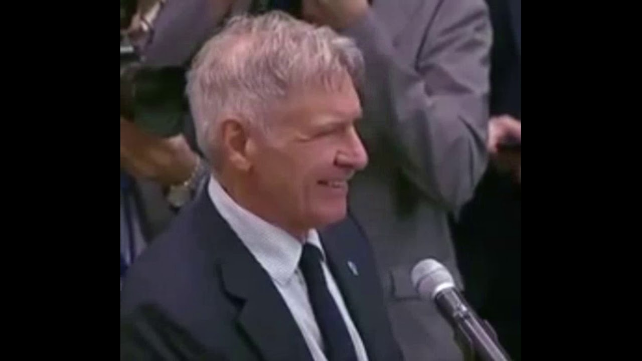 Download Harrison Ford SCORCHES World Leaders