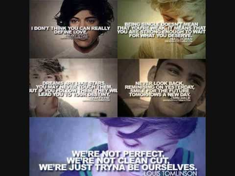 One Direction: Quotes, Sayings & Jokes