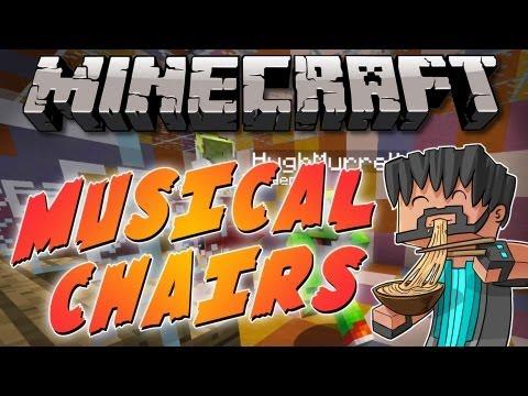 Minecraft Mini-Game : Musical Chairs w/ Friends