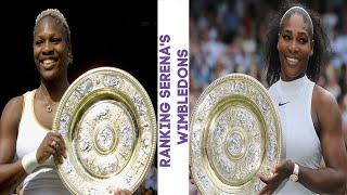 Ranking Serena Williams' 7 Wimbledon Titles