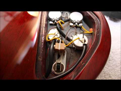 Gibson SG Special Pickup swap upgrade to 57 Classics - YouTube
