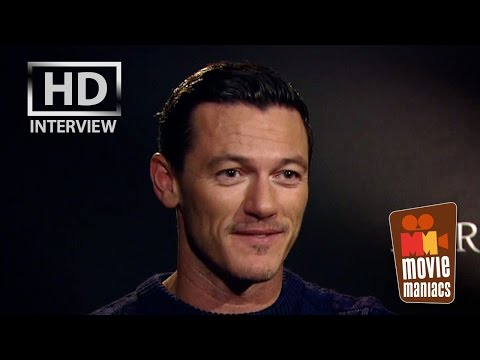 Luke Evans wants to have kids! Exclusive Clip