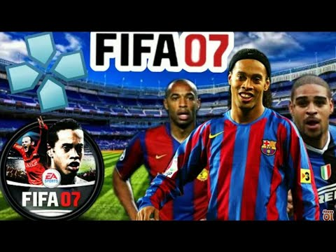 (800MB)Download FIFA 07 PSP Android Offline Face Kits 2007 & Transfers Update Best Graphics