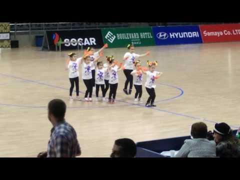 AZERBAİJAN OPEN DANCE & ART & CHEERLEADİNG CHAMPİONSHİP 2016. 2-Cİ YER DAMLA REQS QRUPU
