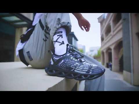 새로운 패션 남성 신발 운동화 운동화 통기성 칼날 가장자리 남성 신발 증가