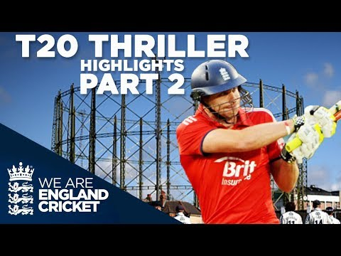T20 Thriller Goes To Last Ball: England v New Zealand 2013 - Highlights: Part 2