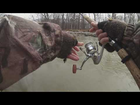 Fishing Egg Sacs In Off-color Water For Steelhead