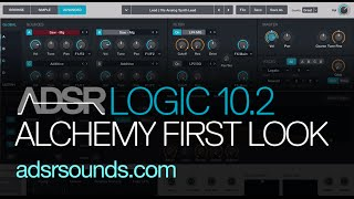Logic Pro X 10.2 Update - Alchemy Synth First Look