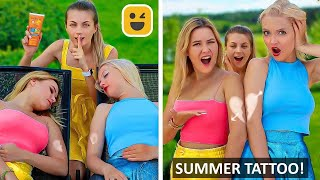 SIMPLE SUMMER PRANKS! Funny And Creative DIY Prank on Girls & Friends by Mr Degree