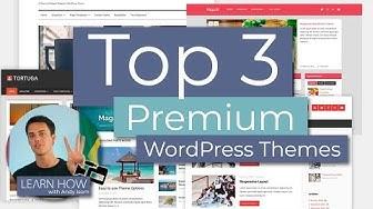 Top 3 Premium WordPress Themes for Bloggers
