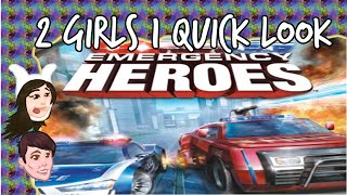 2 Girls 1 SHITTY Look - Emergency Heroes: In which you save people by crashing into them?