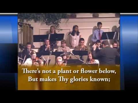 Hammond Baptist High School Orchestra - I Sing the Mighty Power of God