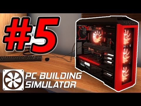 """""""My Computer Doesn't Boot up!"""" - PC Building Simulator Gameplay - Episode 5"""