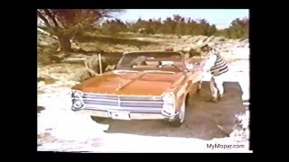 1967 Plymouth Fury Convertible TV Commercial - Best Quality