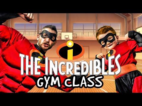 Kids Workout! INCREDIBLES GYM CLASS! Real-Life VIDEO GAME! Kids Workout Videos, DANCE, & P.E. FUN!