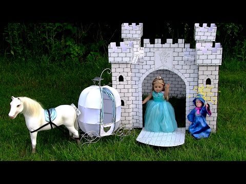 EPISODE 3 American Girl Doll Cinderella, Going to the Ball AGSM