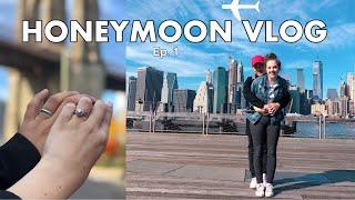 HONEYMOON VLOG: Episode 1 | NYC | AMWF Video