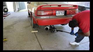 MK3 SUPRA 7MGTE GETTING READY TO PULL THE ENGINE OUT!!