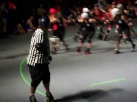 Bayou City Bosses vs Psych Ward Sirens (Bayou Music Center, Houston, TX) 04-20-2013