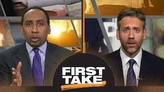 First Take debates Martellus Bennett's comments on marijuana in the NFL   First Take   ESPN