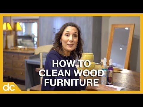 How Should I Clean My Wood Furniture? | Furniture FAQs