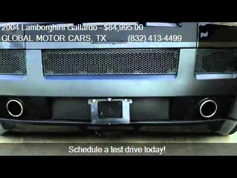 2004 Lamborghini Gallardo Coupe For Sale In Houston Tx 7703 Youtube