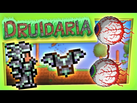 Terraria #61 - We Battle The Twins Boss in an Epic Fight