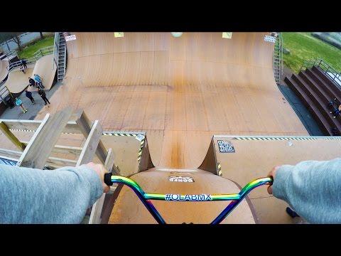 MY BIGGEST FLIP DROP ON BMX EVER!!